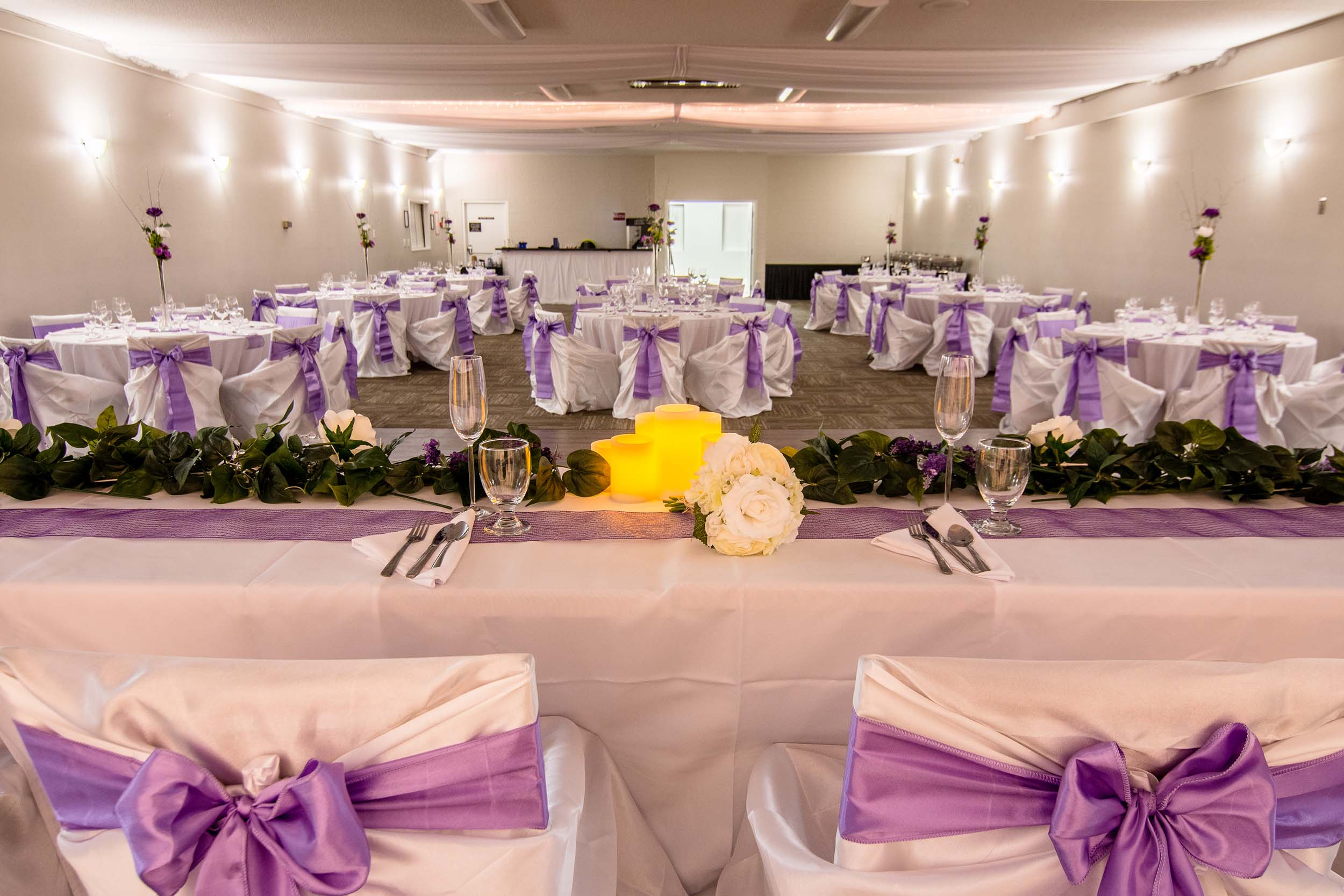 Banquet room decoration